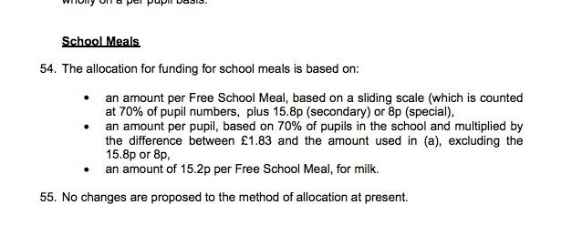 cumbria school meals charge copy